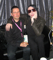 Marilyn Manson - absinthe photo