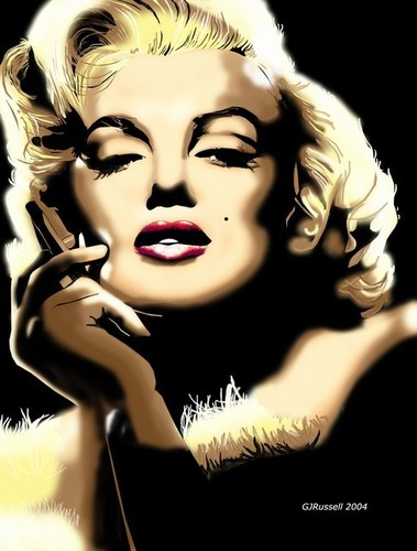 Marilyn Monroe wallpaper called Marilyn