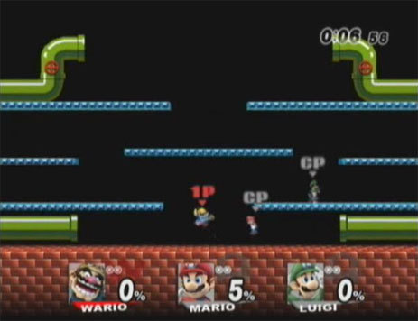 Mario Bros. Stage