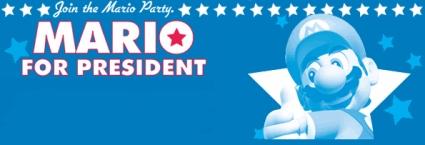 Mario For President!