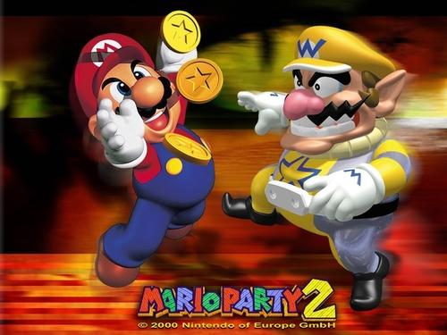 Mario Party 2 karatasi la kupamba ukuta