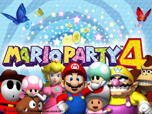 Mario Party 4 壁紙