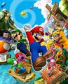Mario Party 7 Artwork
