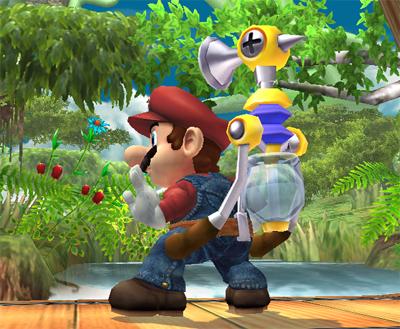 Mario's Special Moves
