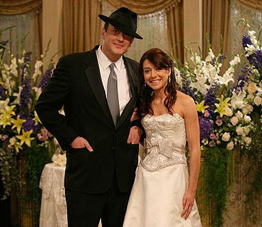 Marshall and Lily's wedding