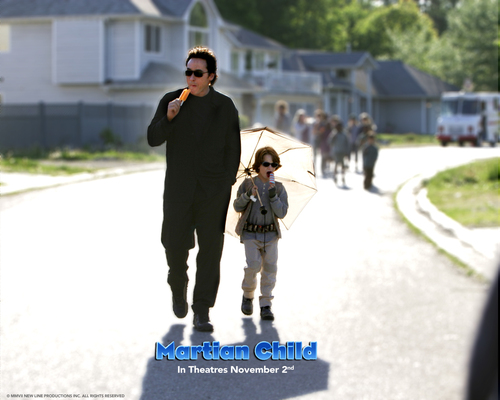 John Cusack wallpaper called Martian Child