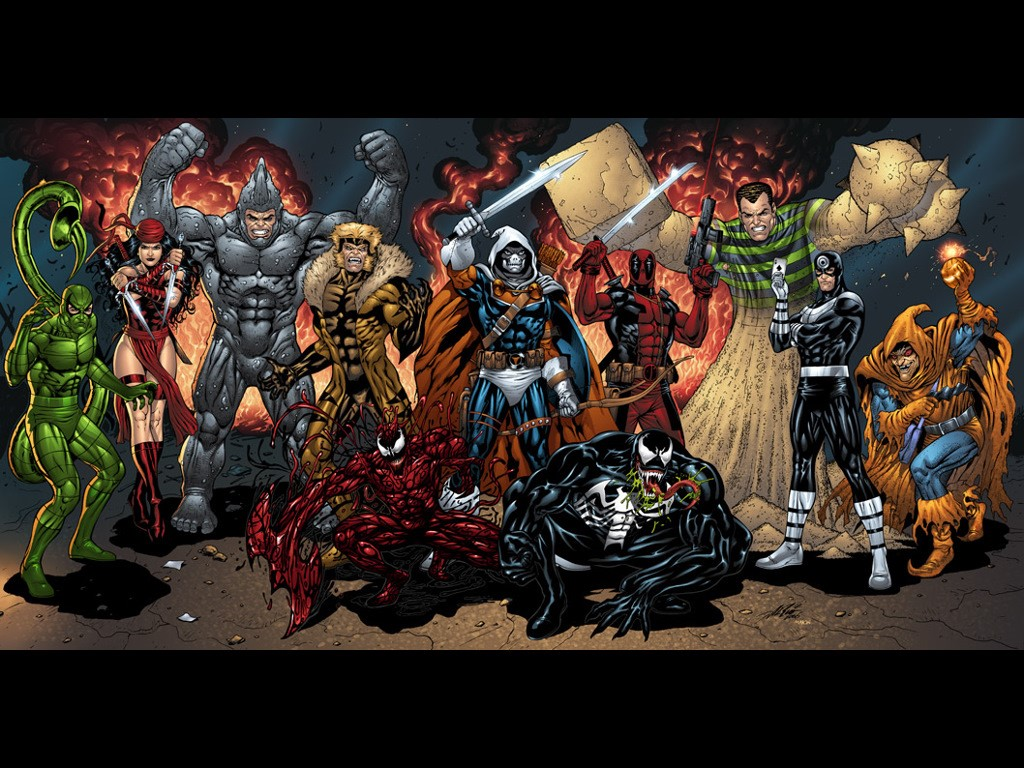 Marvel comics marvel villains