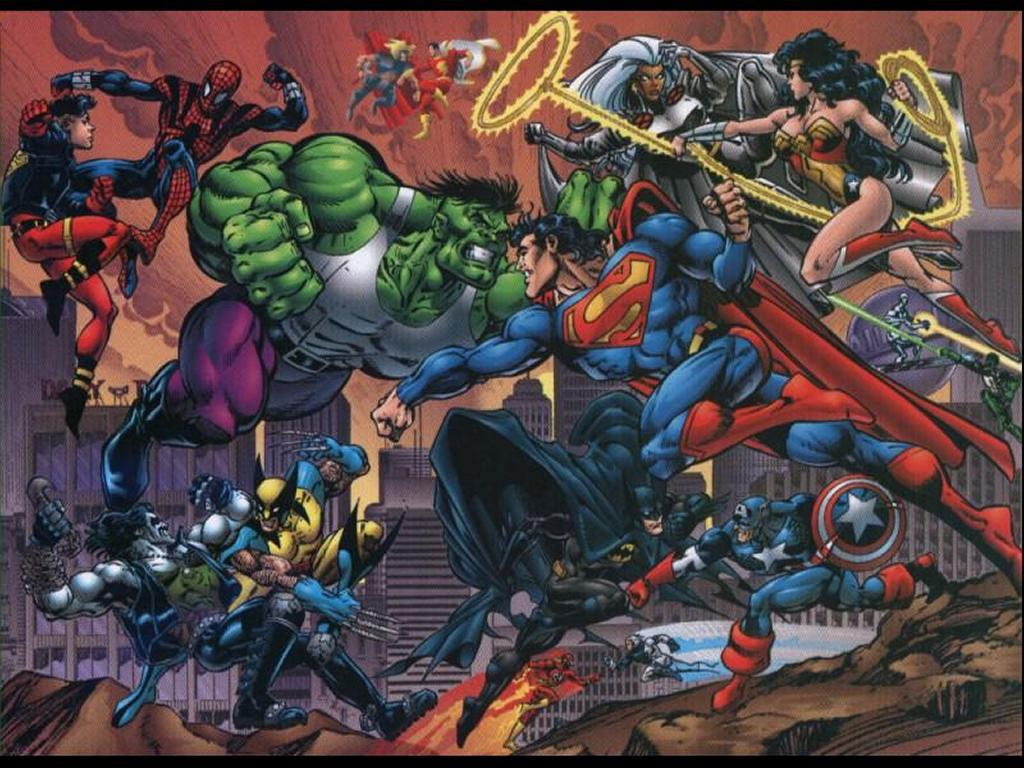 Marvel Comics Marvel vs DC