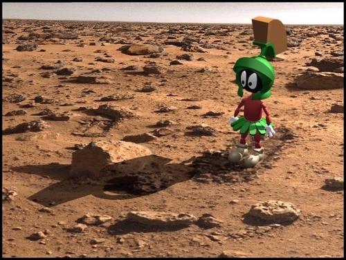Marvin on Mars
