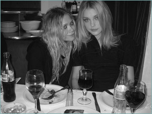Mary Kate and Jessica Stam