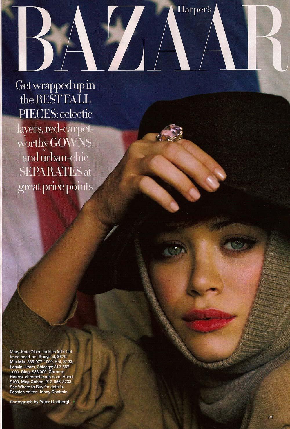 Mary Kate does Harper's Bazaar
