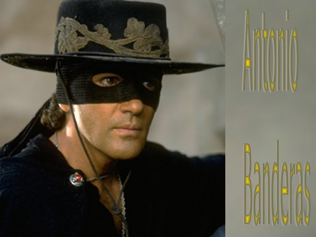 Mask of Zorro - Antonio Banderas Wallpaper (421004) - Fanpop