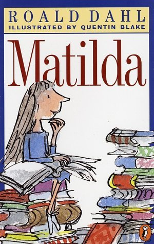 Book to Screen Adaptations kertas dinding entitled Matilda (book & movie)