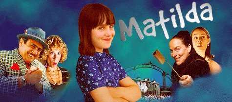 Book to Screen Adaptations Hintergrund entitled Matilda (book & movie)