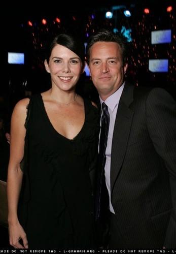 Matthew and Lauren Graham