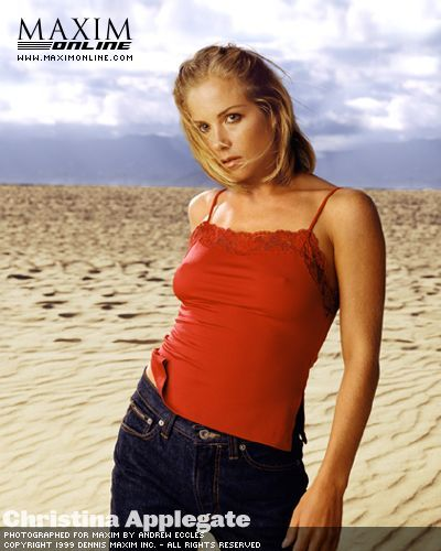 Maxim July/August 1998 - christina-applegate Photo