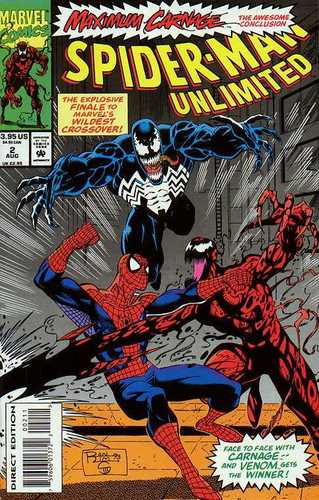 Maximum Carnage finale cover