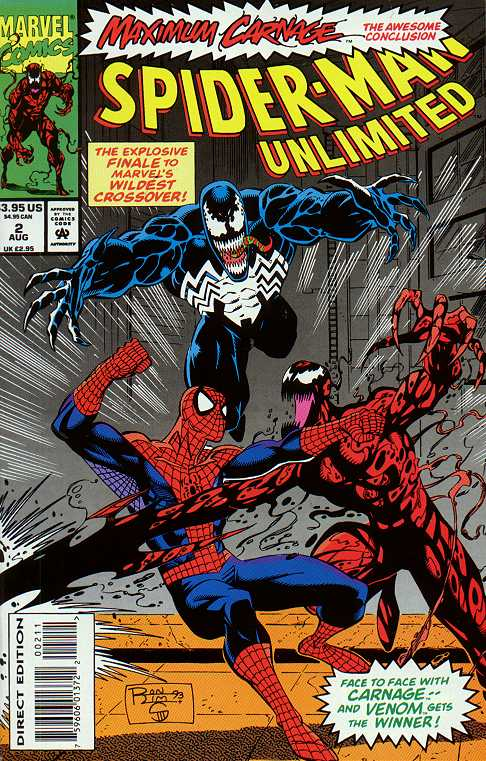 Maximum Carnage Finale Cover Spider Man Villains Photo 770098