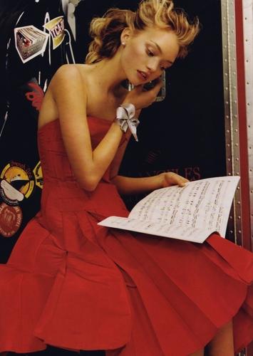 May 2005: Gemma Ward