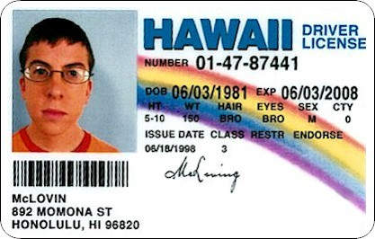 McLovin Driver s License superbad 641196 417 266 Should interns drink at after work social events?