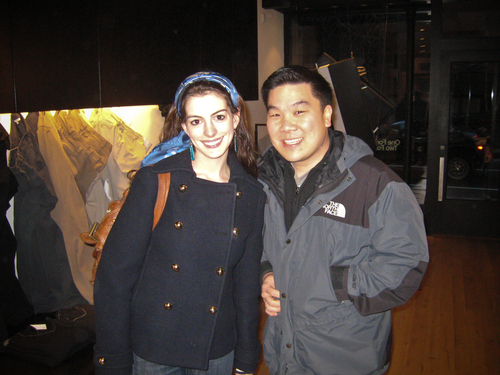 Dave and Anne Hathaway