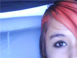 Me and my black and red hair
