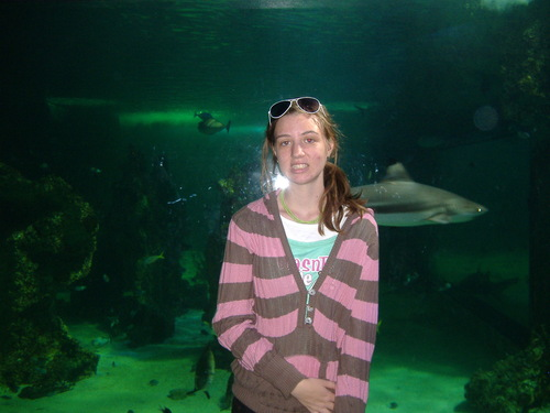 Me at the Sydney Aquarium
