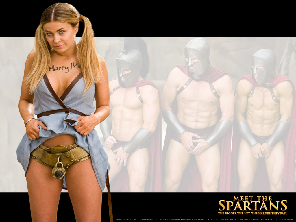 meet the spartans movie heroine photos