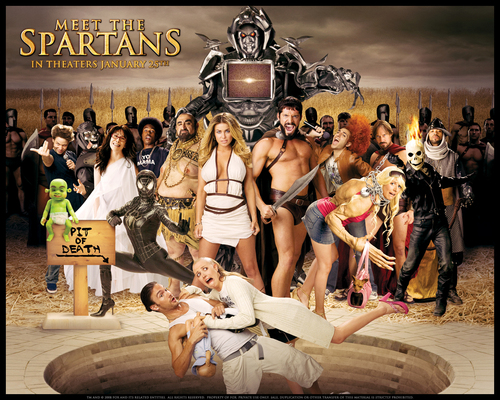 films fond d'écran entitled Meet the Spartans