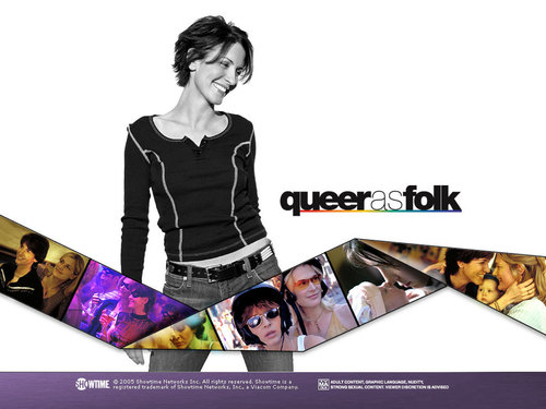 Queer As Folk wallpaper titled Melanie