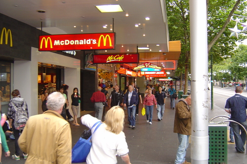 McDonald's wallpaper titled Melbourne, Australia