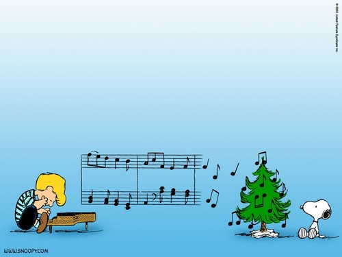Peanuts wallpaper entitled Merry Christmas!
