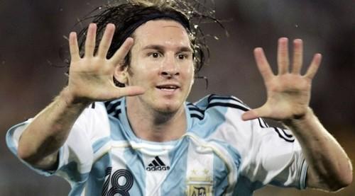 Messi Festejando