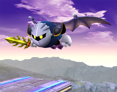 Super Smash Bros. Brawl 바탕화면 titled Meta Knight Special Moves