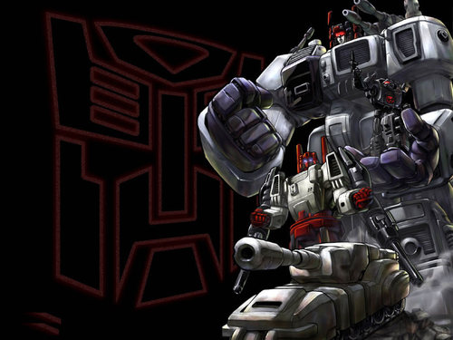 transformers fondo de pantalla titled Metroplex