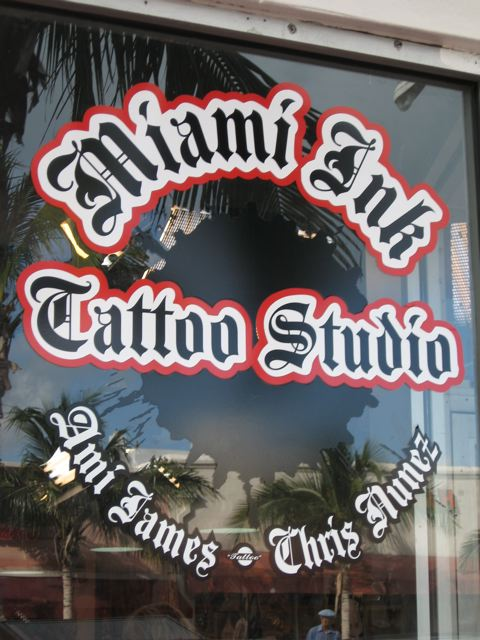Miami Ink Tattoo Parlor
