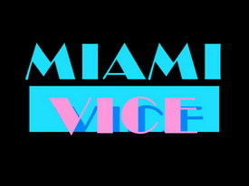 The 80s wallpaper called Miami Vice