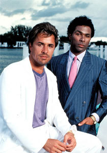 The 80s wallpaper called Miami Vice Fashion!