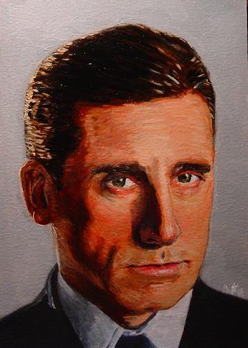 Michael Scott Portrait Revised