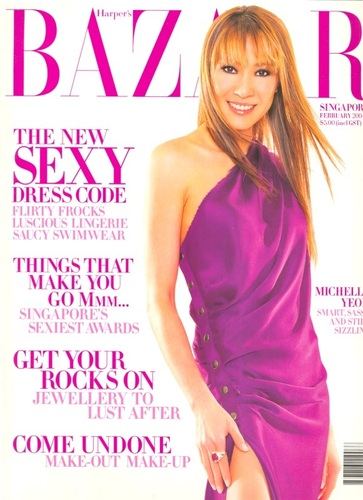 Michelle Yeoh cover