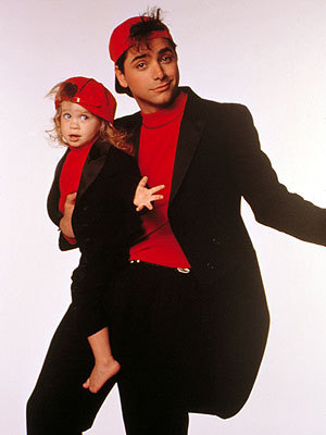 Michelle and Uncle Jesse