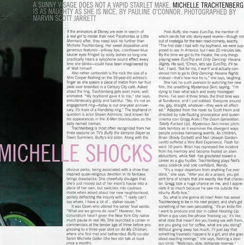 Michelle in Nylon