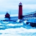 Michigan Lighthouse - lighthouses icon