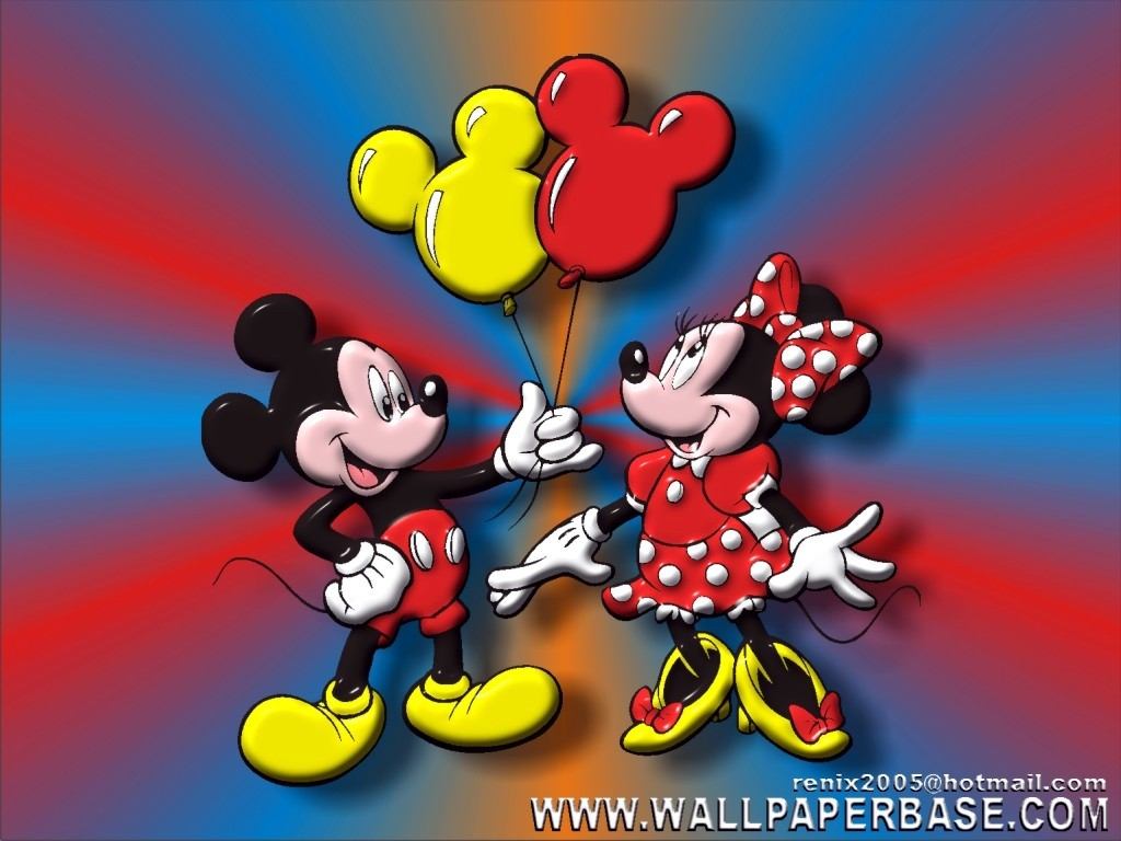 mickey minnie disney wallpaper 121648 fanpop