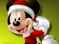 Mickey Mouse - christmas wallpaper