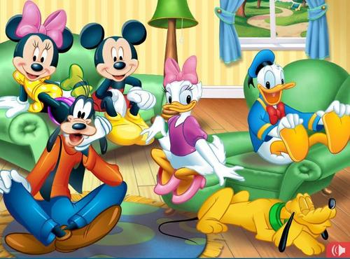 Disney wallpaper titled Mickey and friends