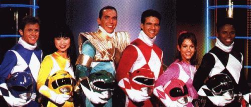 The 90s wallpaper called Mighty Morphin Power Rangers