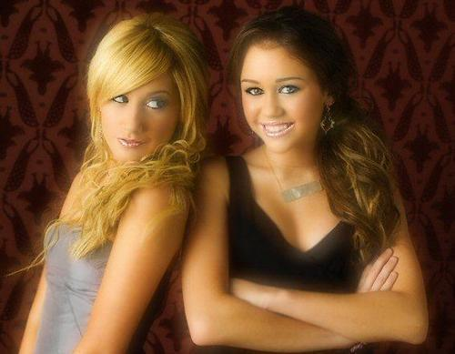 Miley Cyrus and Ashley Tisdale - miley-cyrus Photo