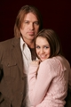 Miley and Billy ray