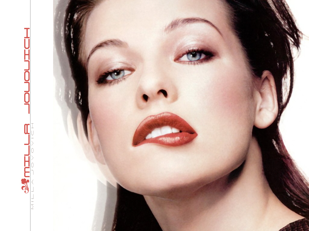 Milla Jovovich - Wallpaper Actress